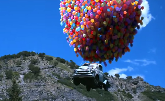 Auto ballon