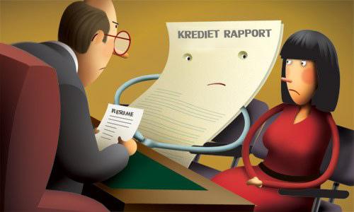 krediet-rapport
