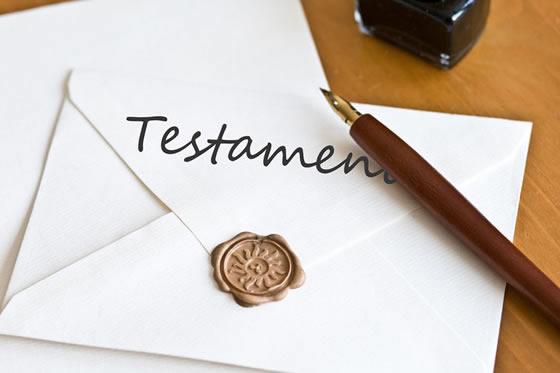 Erfenisrechten testament